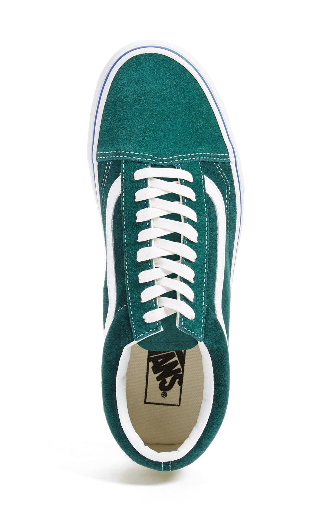 Alternate Image 4  - Vans 'Old Skool' Velvet Sneaker (Men) (Nordstrom Exclusive)