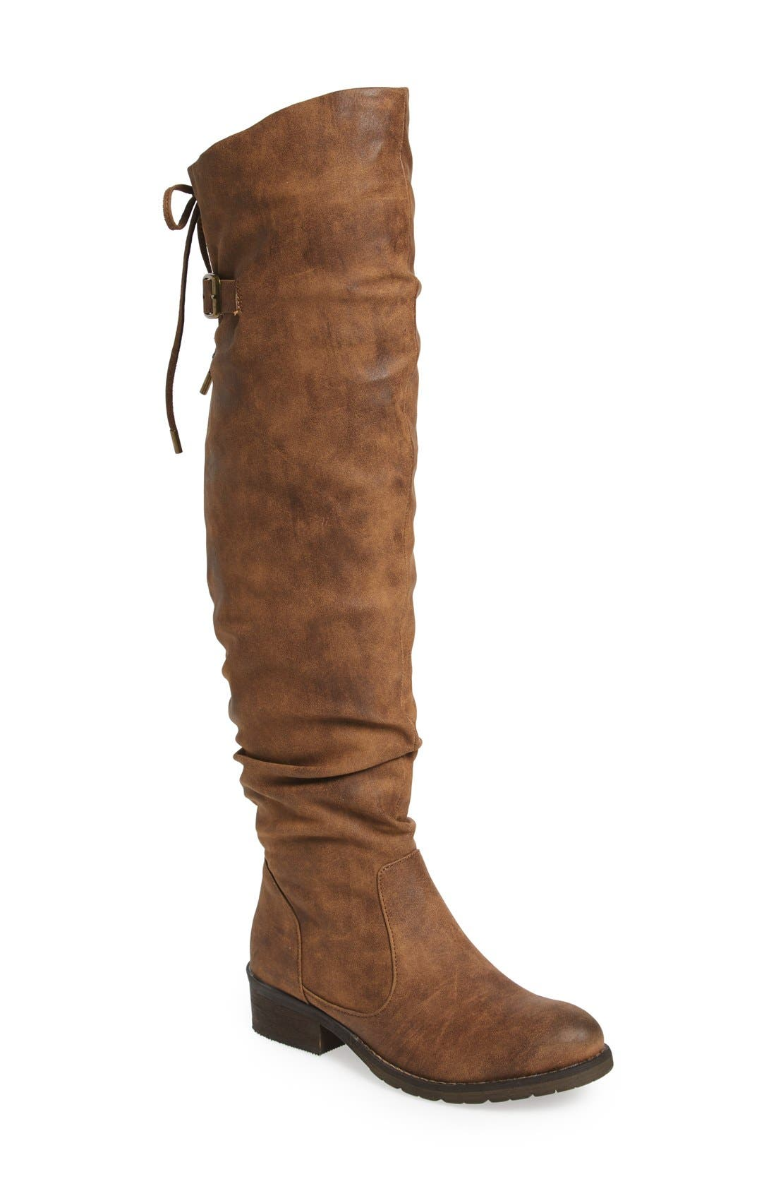 Alternate Image 1 Selected - Very Volatile Densey Over the Knee Boot (Women)