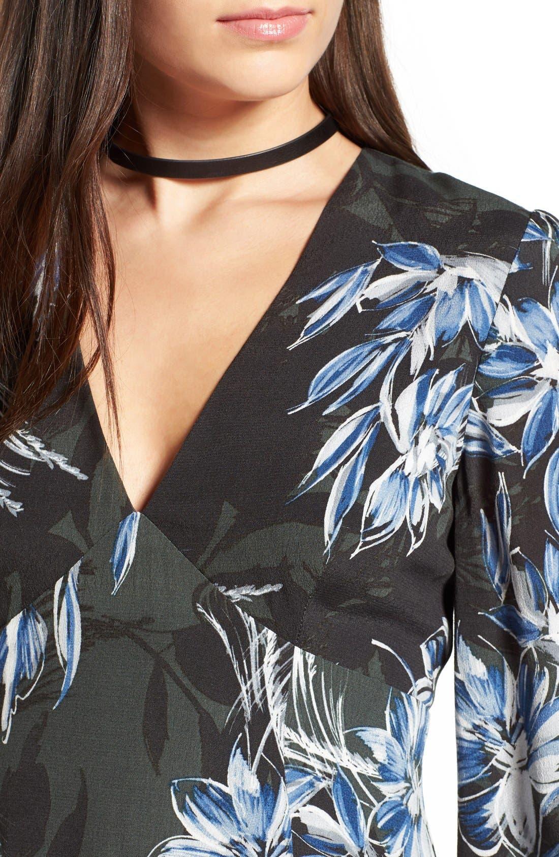 Alternate Image 4  - ASTR 'Mabel' Fit & Flare Dress
