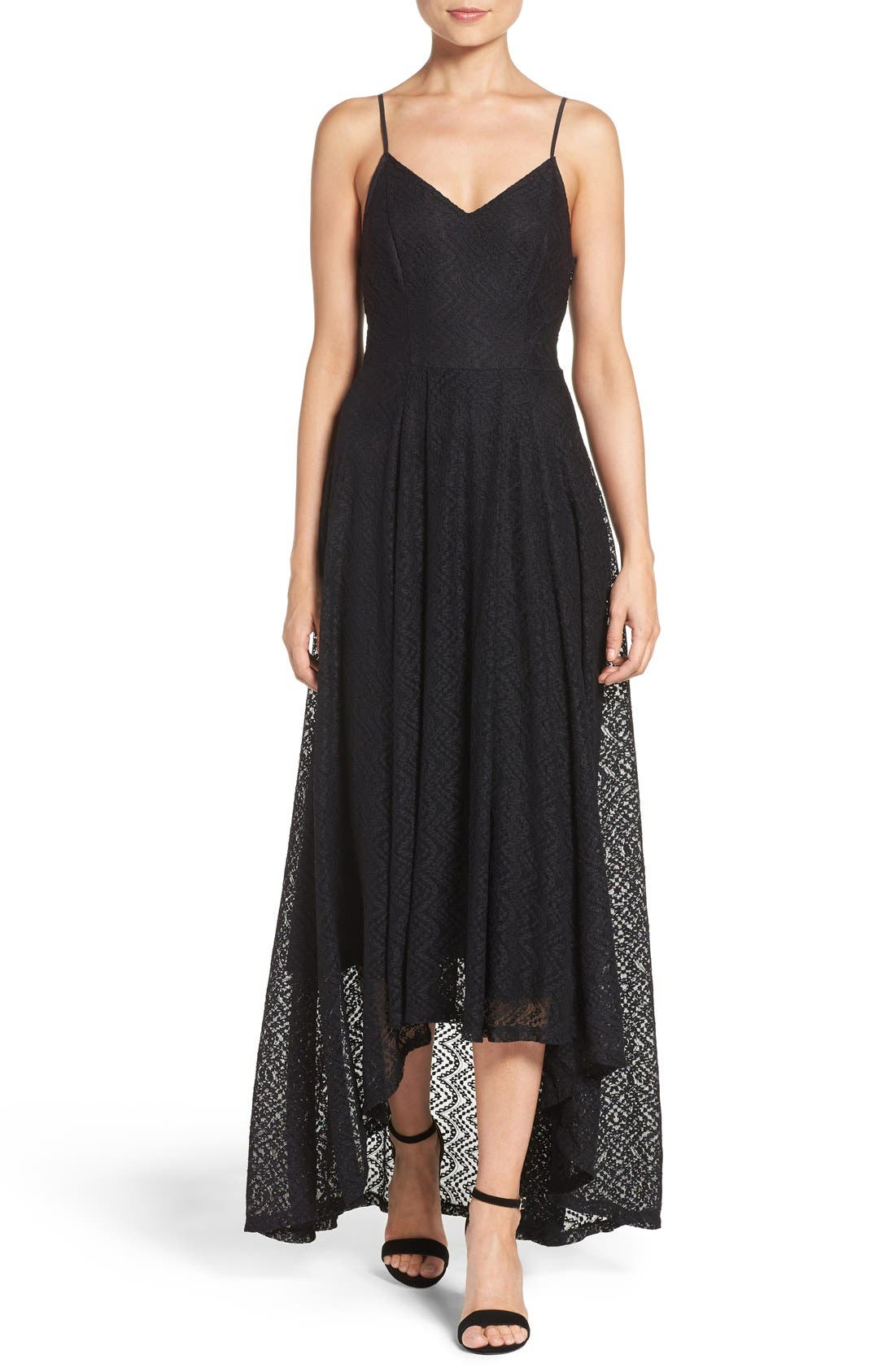Alternate Image 1 Selected - Ali & Jay Lace Fit & Flare Maxi Dress