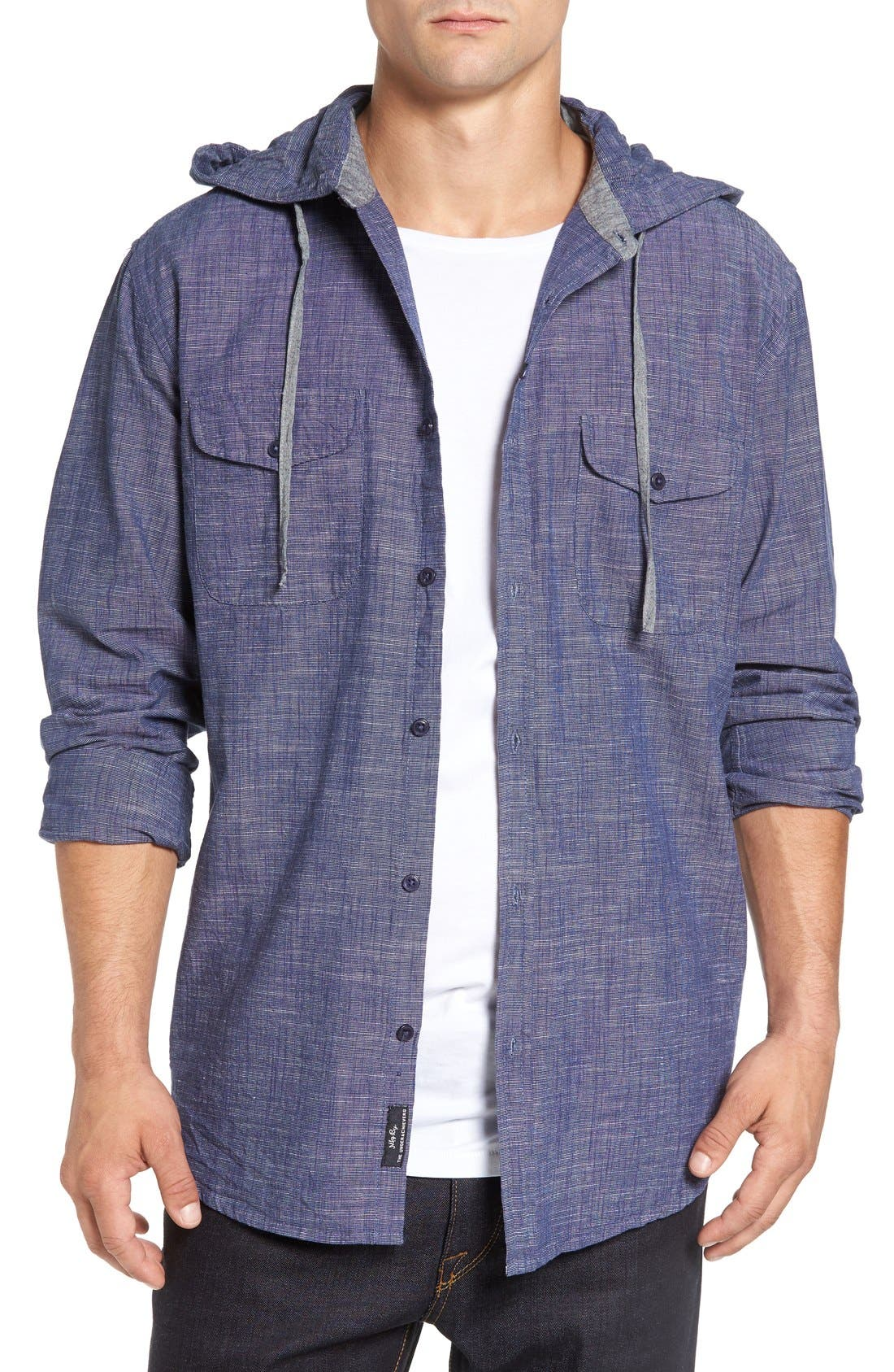 Imperial Motion 'Oslo' Hooded Woven Shirt