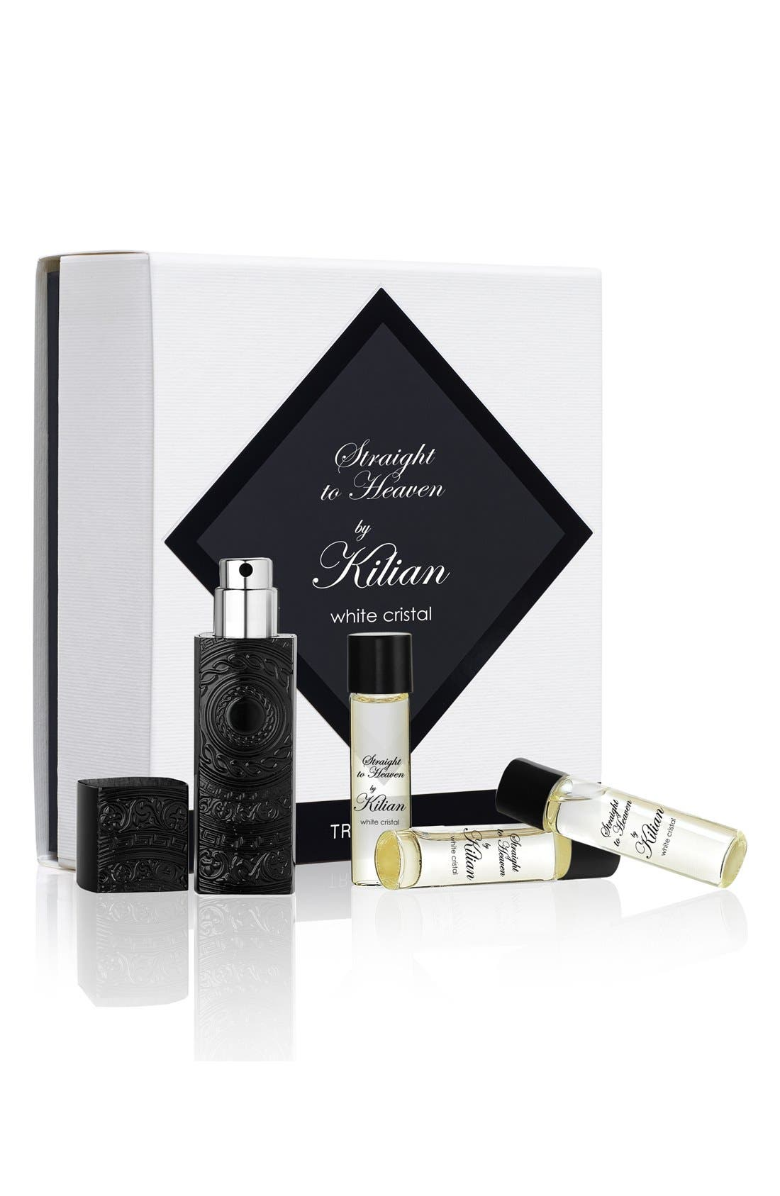 Kilian 'L'Oeuvre Noire - Straight to Heaven, white cristal' Travel Set