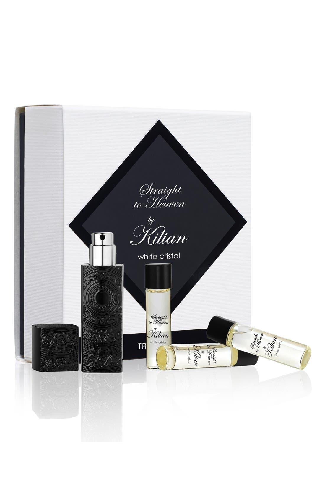 Kilian 'L'Oeuvre Noire - Straight to Heaven, white cristal' Travel Set