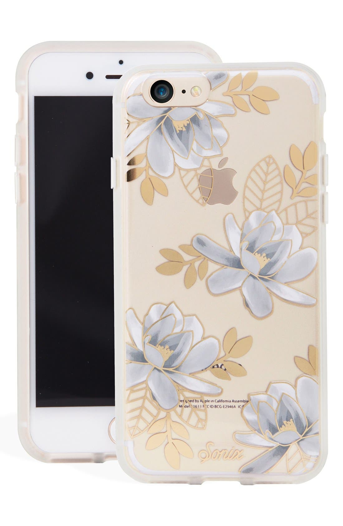 Alternate Image 1 Selected - Sonix Magnolia iPhone 7 & 7 Plus Case