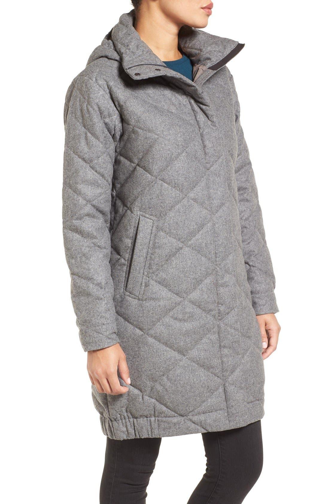 Alternate Image 3  - Nau Wool Blend Quilted Down Coat