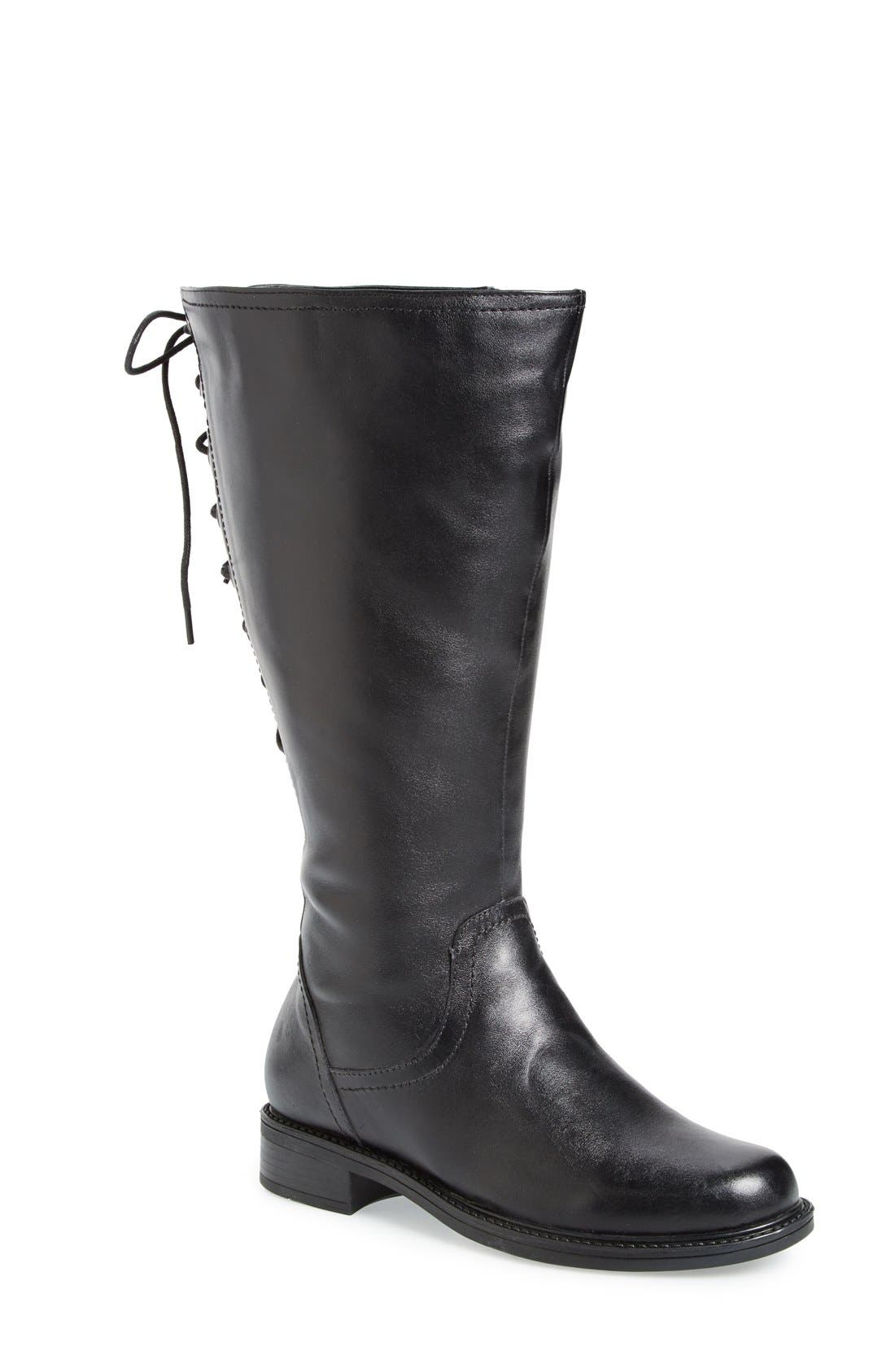 David Tate 'Zoe' Knee High Boot (Women) (Extra Wide Calf)