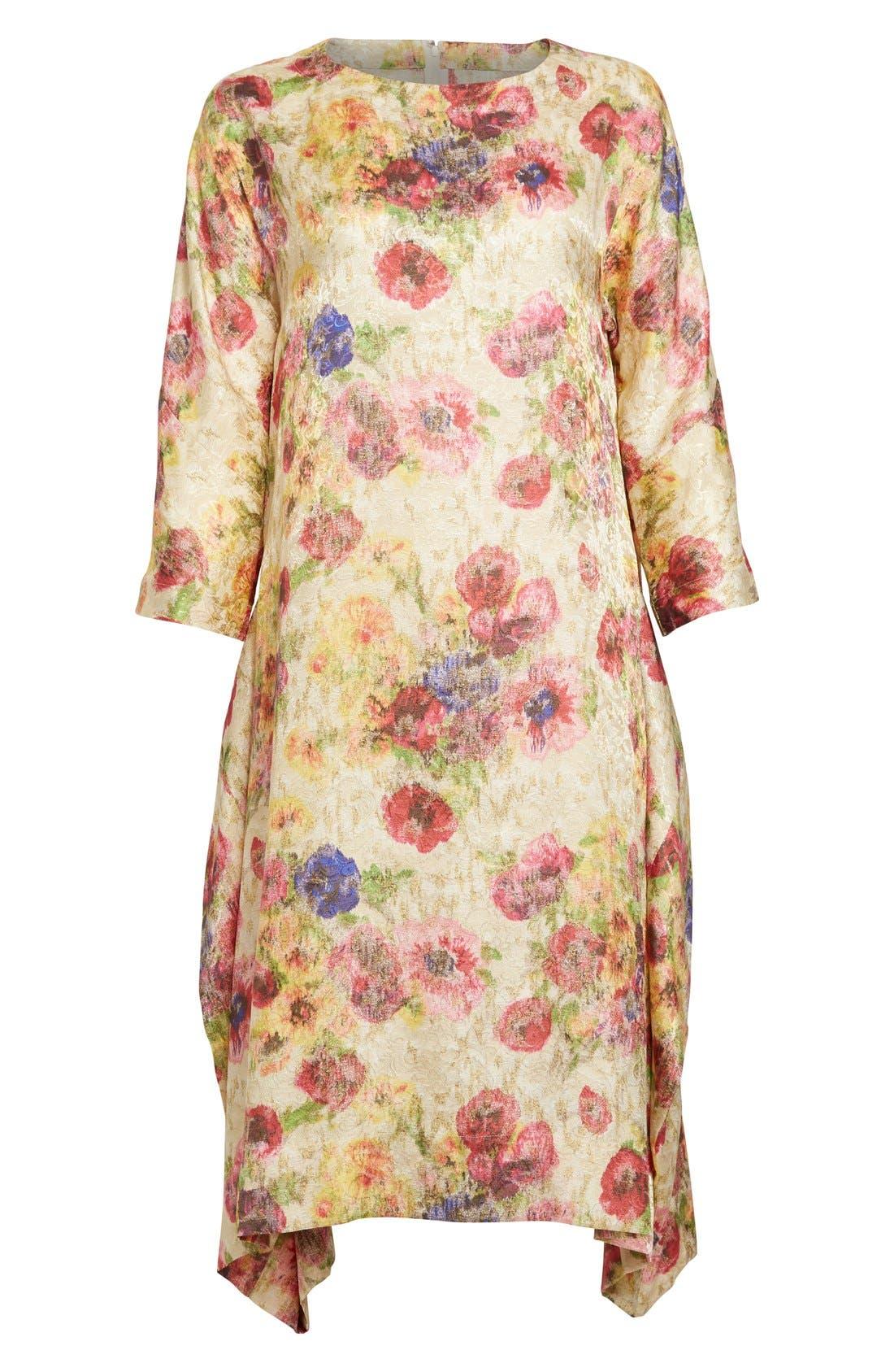 Alternate Image 4  - Comme des Garçons Floral Jacquard Shift Dress