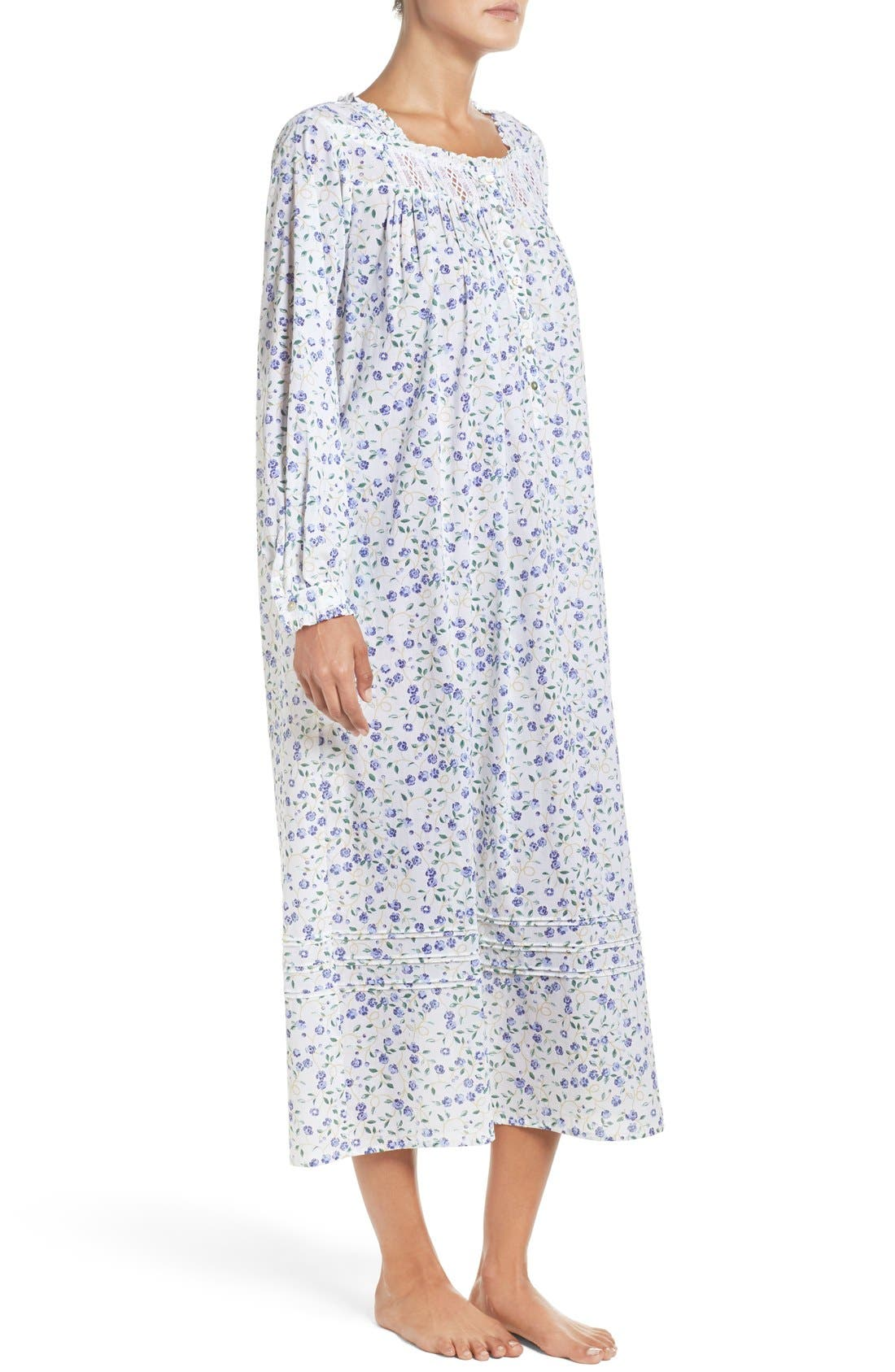 Alternate Image 3  - Elileen West Cotton Nightgown