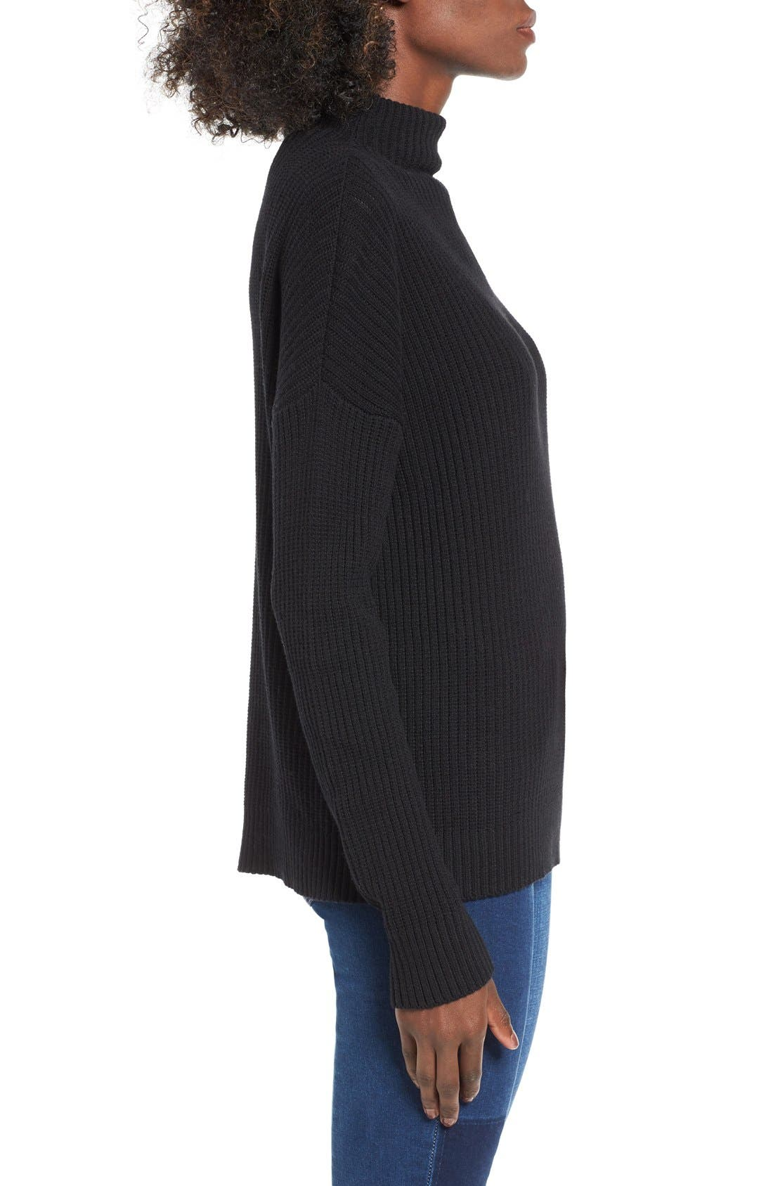 Alternate Image 3  - BP. Mock Neck Sweater