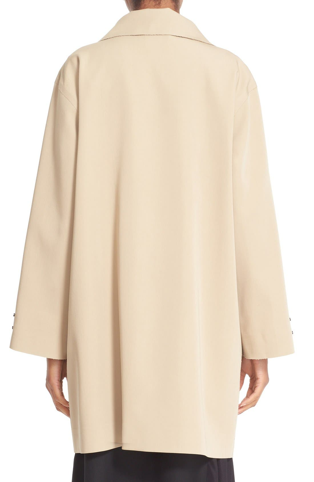 Alternate Image 2  - Colovos Bonded Wool Coat