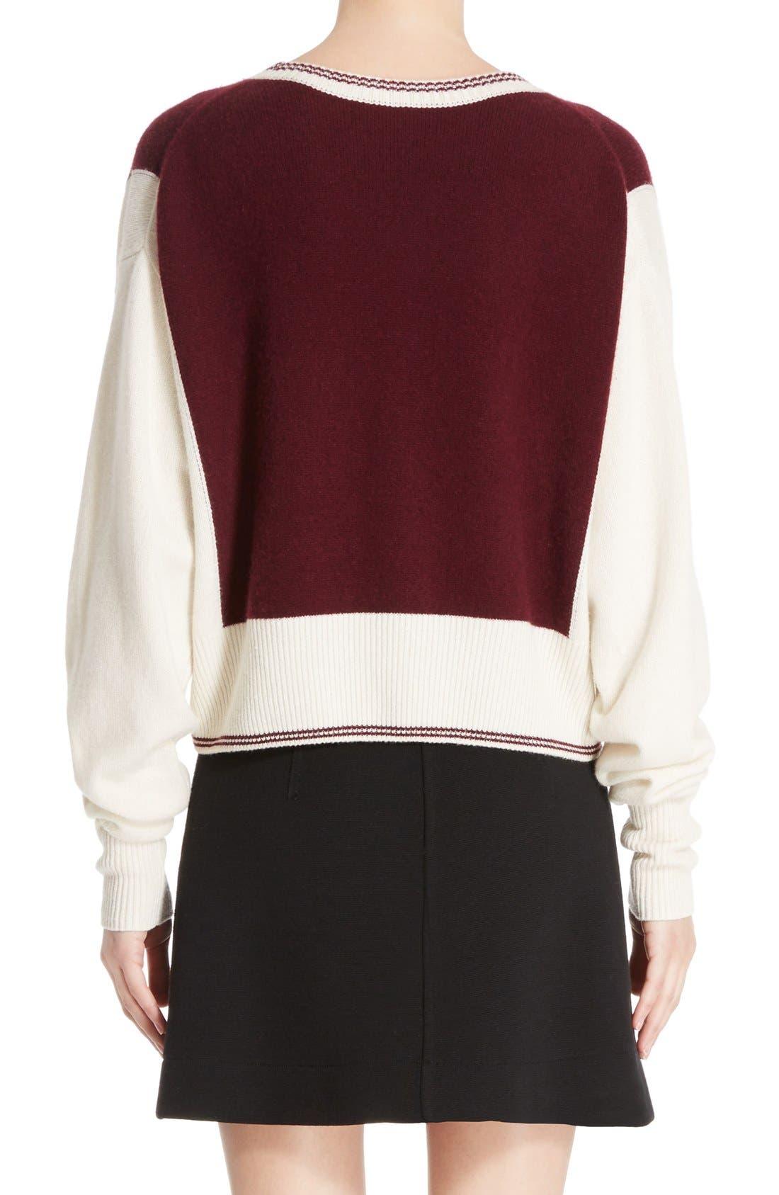 Alternate Image 2  - Chloé Bicolor Sweater
