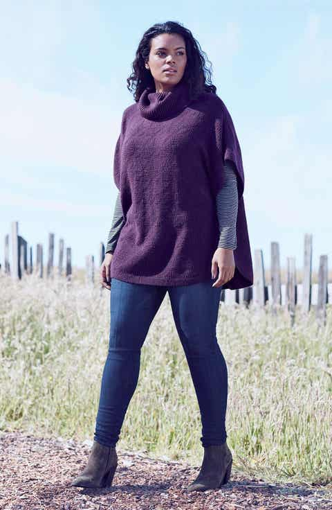 Sejour Sweater Wit Wisdom Skinny Jeans Outfit With Accessories Plus Size