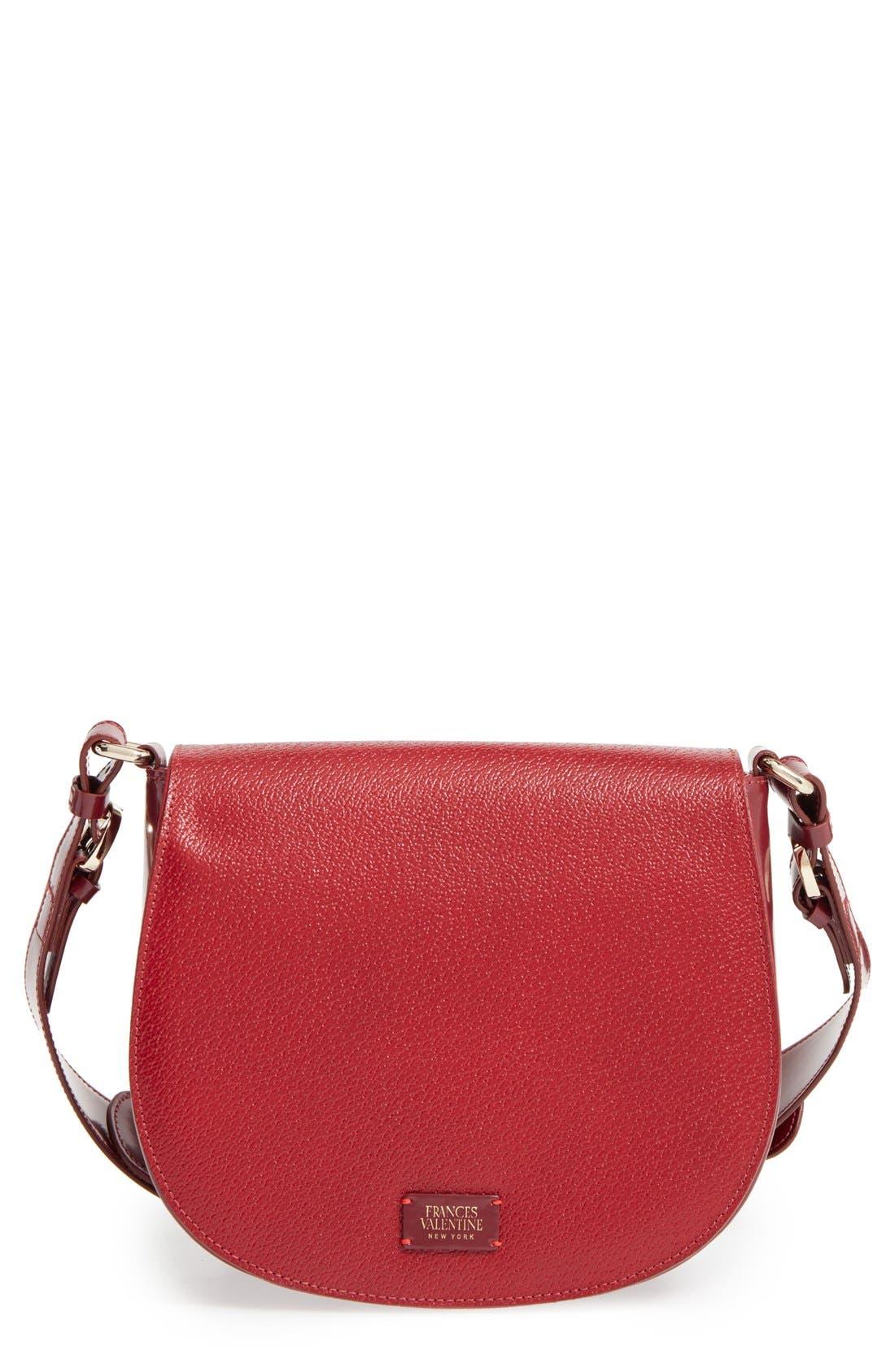 Alternate Image 1 Selected - Frances Valentine 'Small Ellen' Leather Shoulder Bag