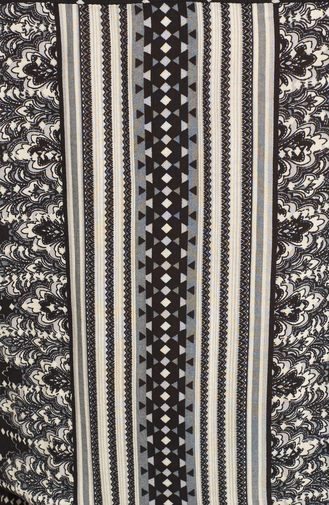 Alternate Image 5  - Rip Curl Winter Bird Print Lace-Up Dress