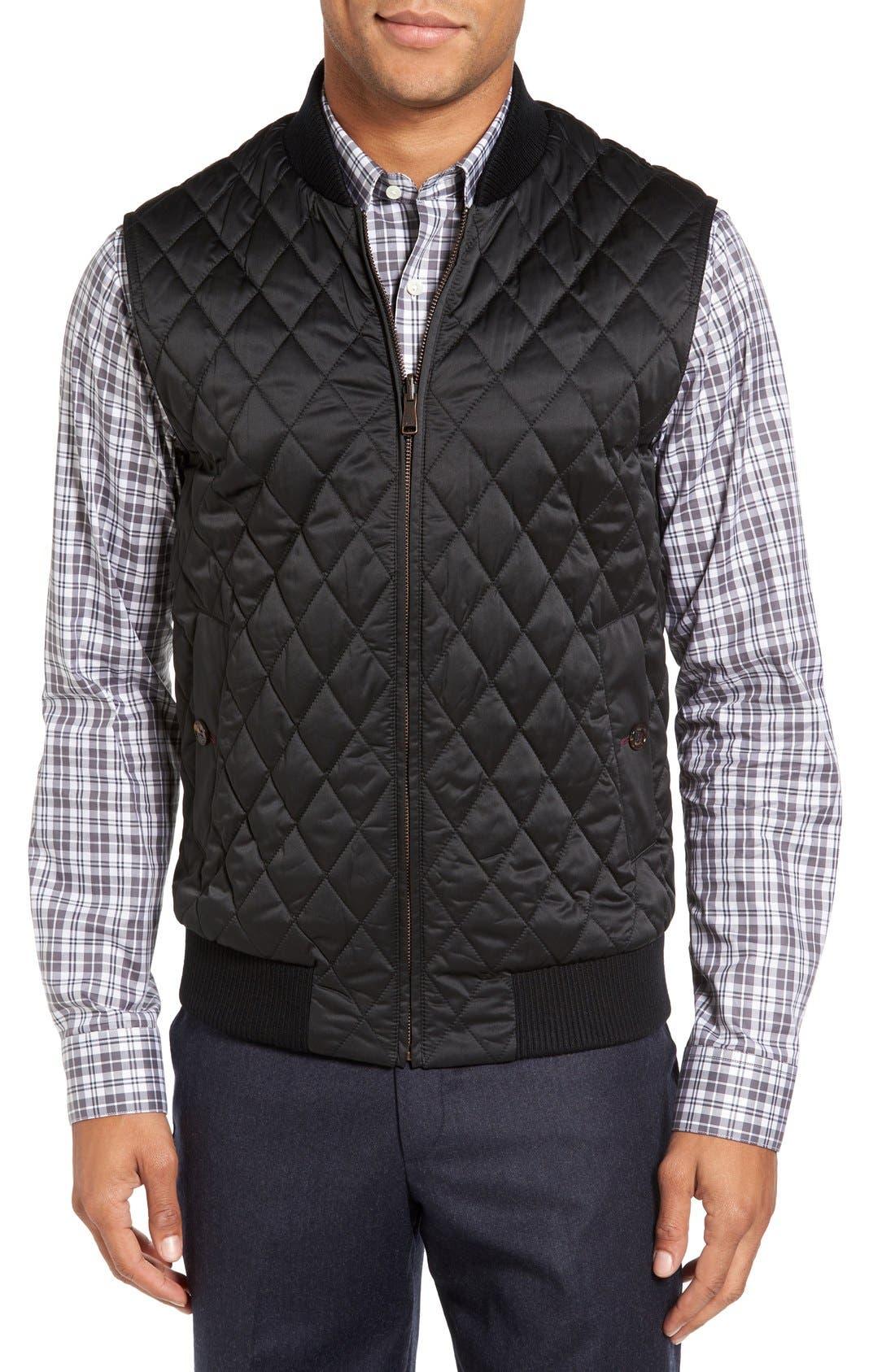 Alternate Image 4  - Ted Baker London Arizona Wool Blend Overcoat