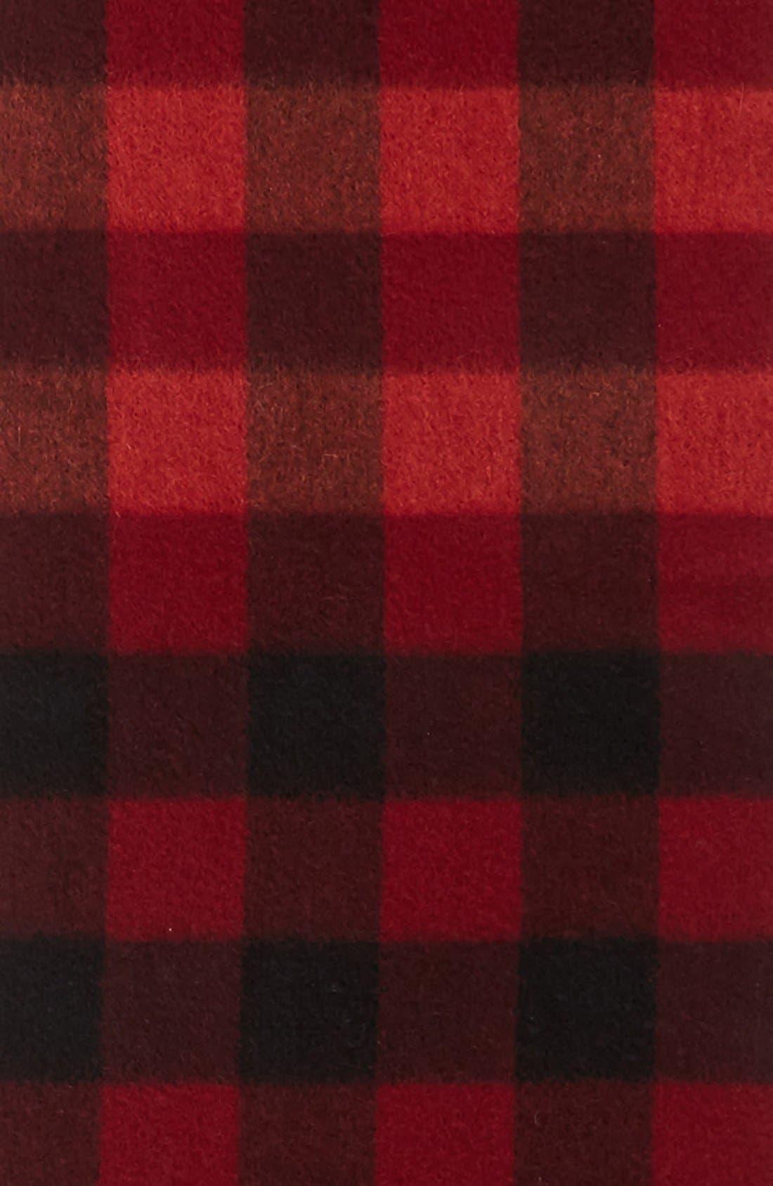 Alternate Image 2  - Nordstrom 'Blocked Checks' Cashmere Scarf