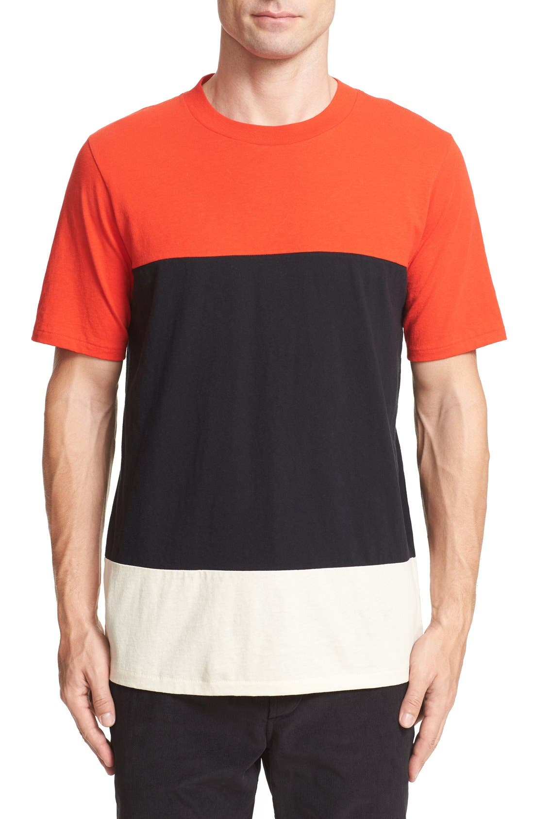 RAG & BONE Colorblock T-Shirt