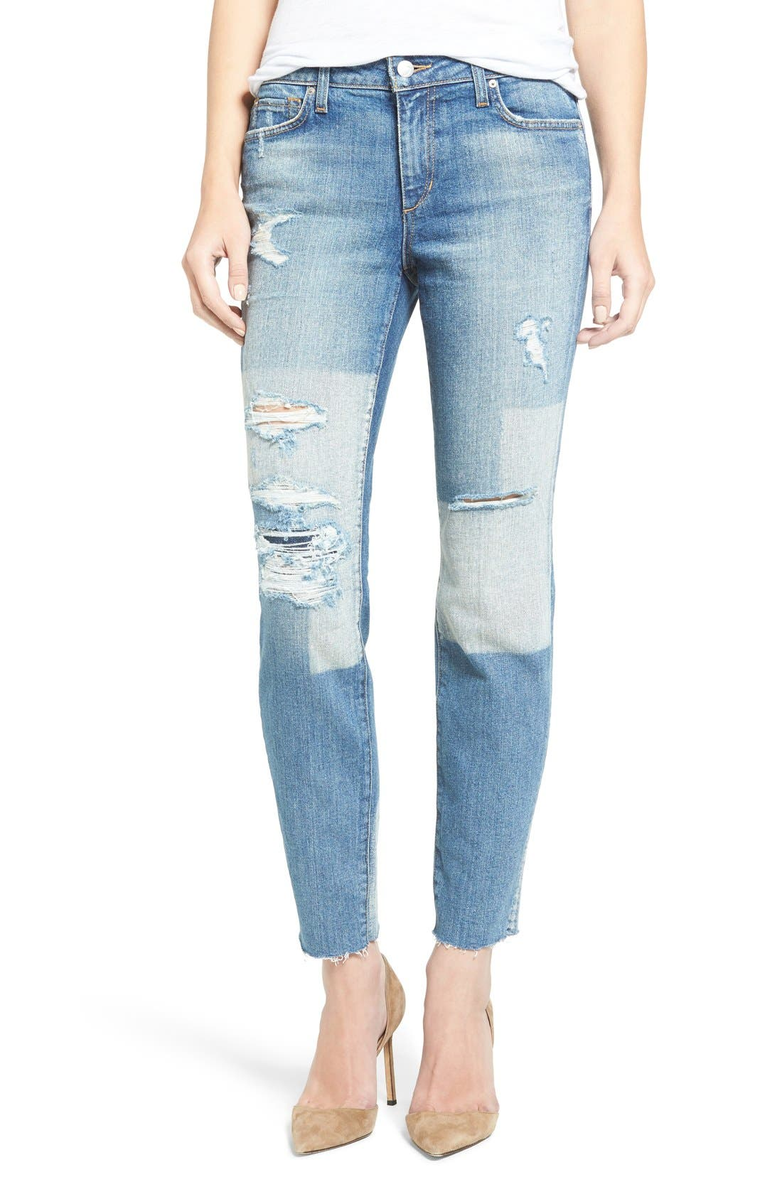 Main Image - Joes Jeans Icon Ripped Ankle Skinny Jeans (Joon)