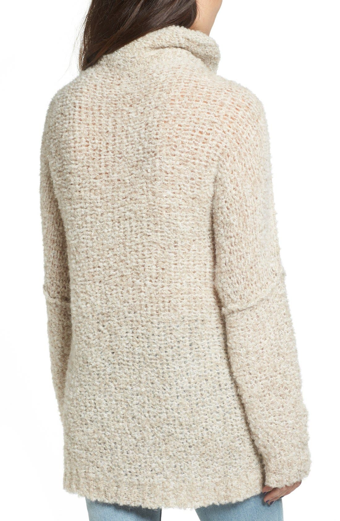 Alternate Image 2  - Free People 'She's All That' Knit Turtleneck Sweater