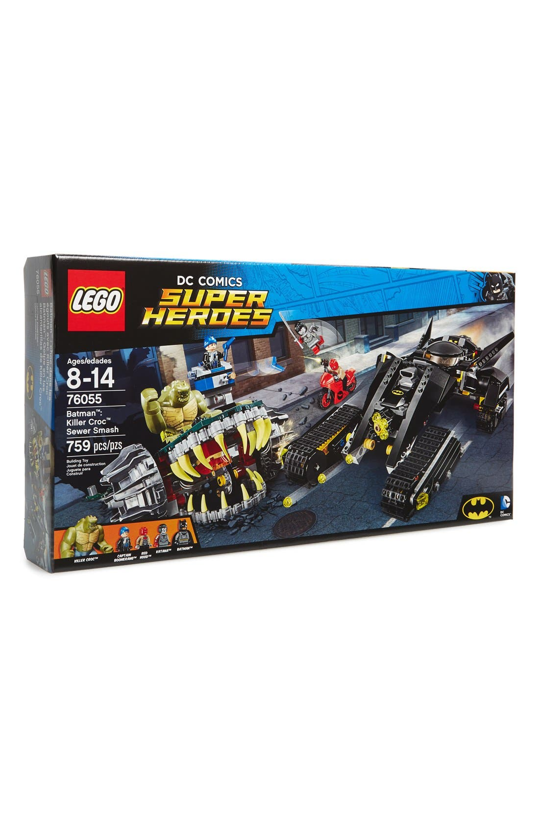 LEGO® DC Comics™ Super Heroes Batman™: Killer Croc™ Sewer Smash - 76055
