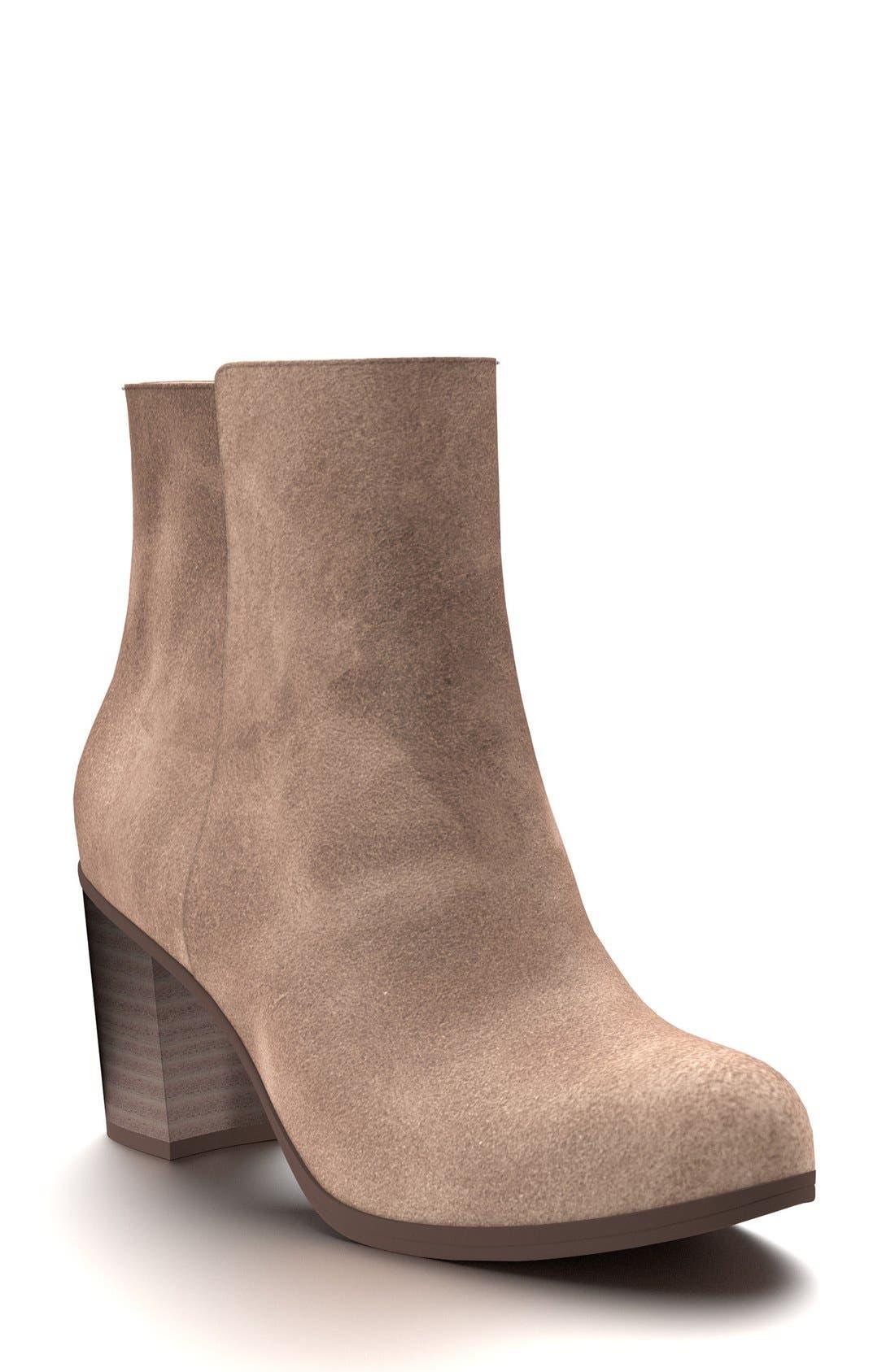 Shoes of Prey Block Heel Bootie (Women)