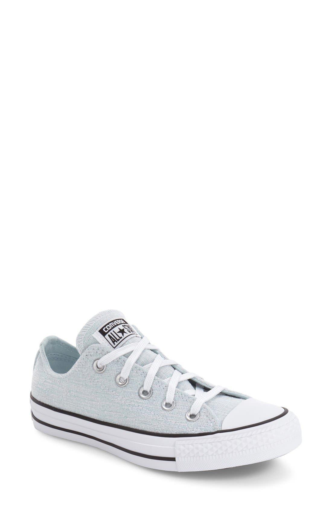 Main Image - Converse Chuck Taylor® All Star® Chuck Ox Knit Low Top Sneaker (Women)