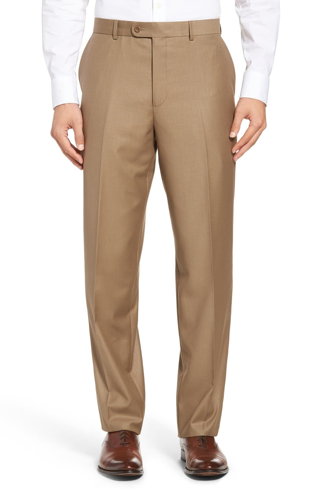 Linea Naturale 'Travel Genius - Hawk' Flat Front Pants