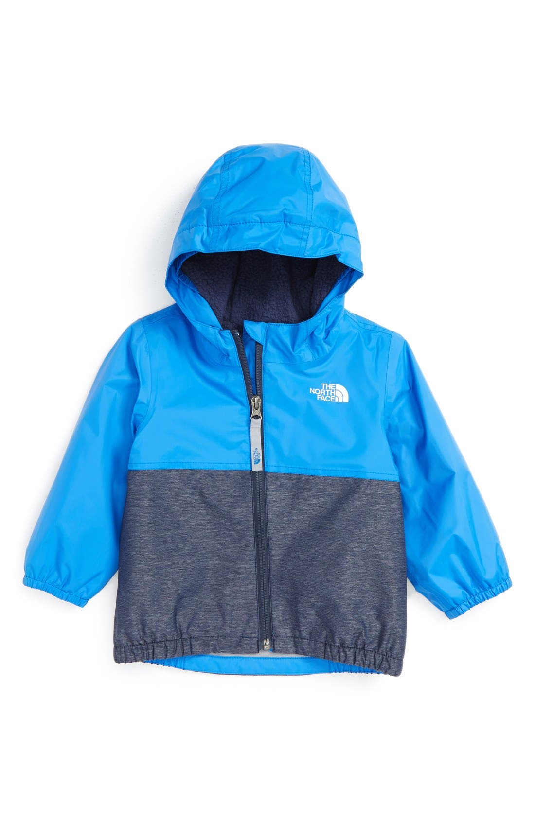 Alternate Image 1 Selected - The North Face 'Warm Storm' Hooded Waterproof Jacket (Baby Boys)