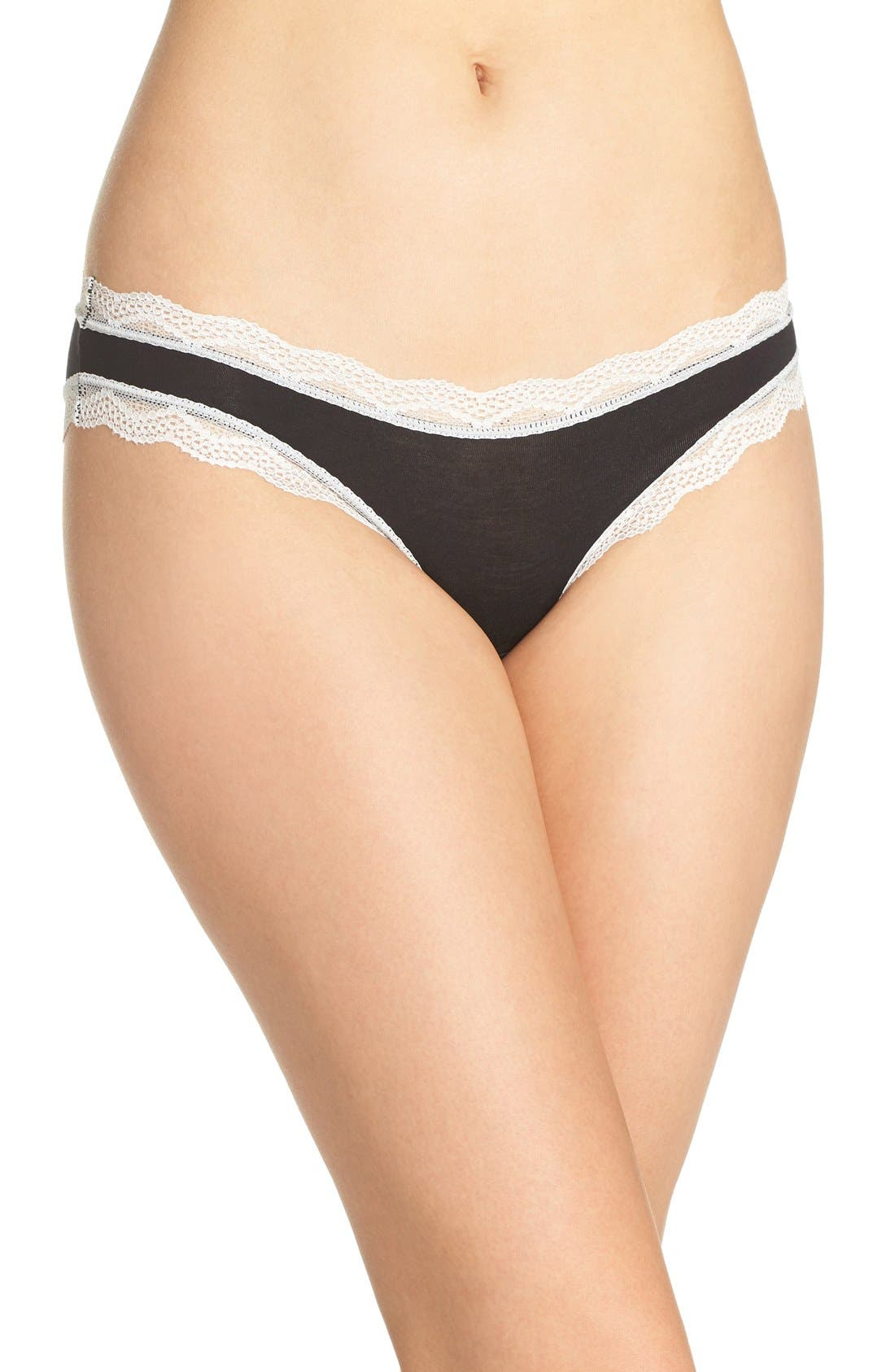 Cheekfrills Lace Trim Bikini (3 for $45)
