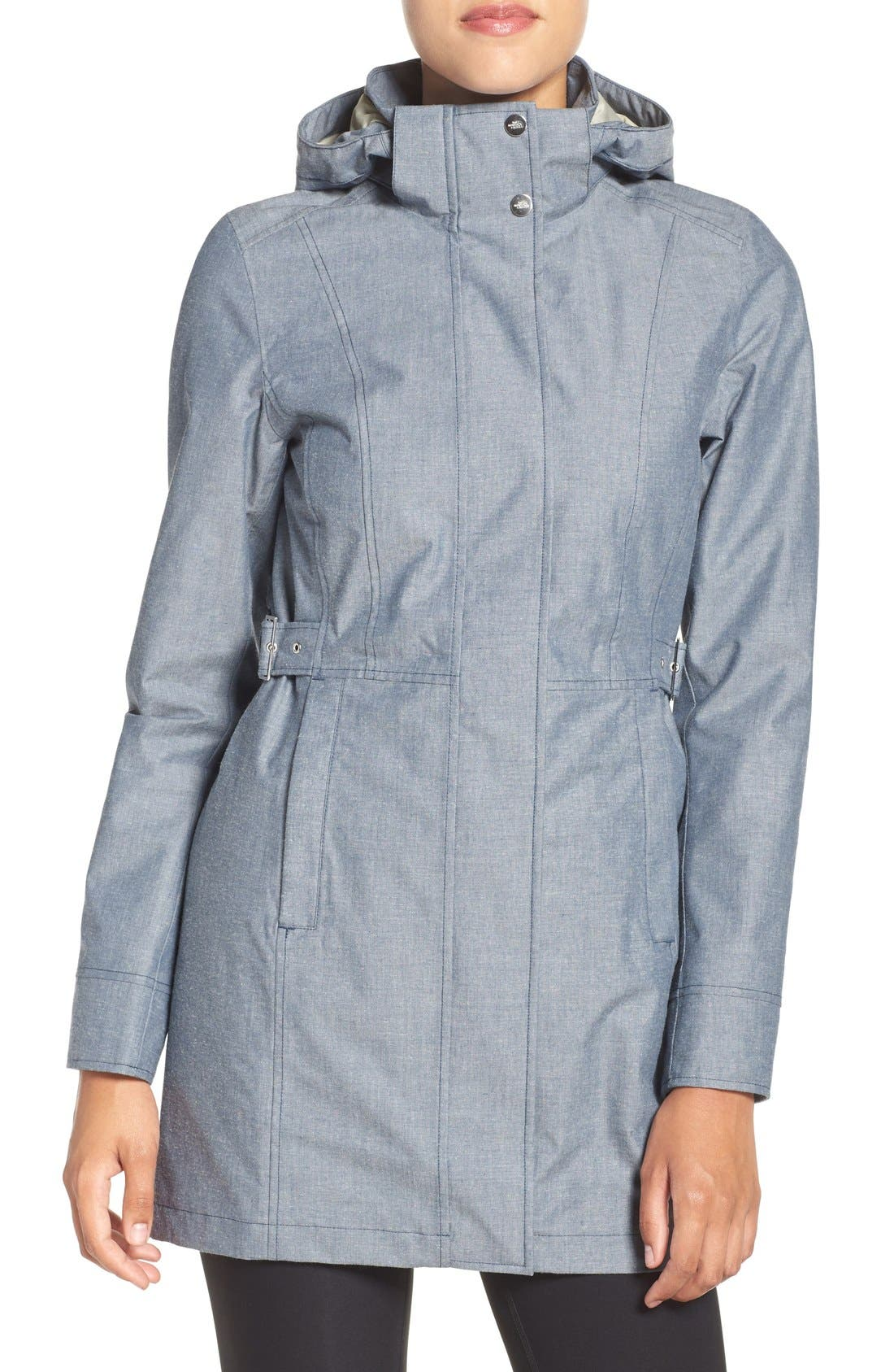 Alternate Image 1 Selected - The North Face Laney Novelty Trench Raincoat