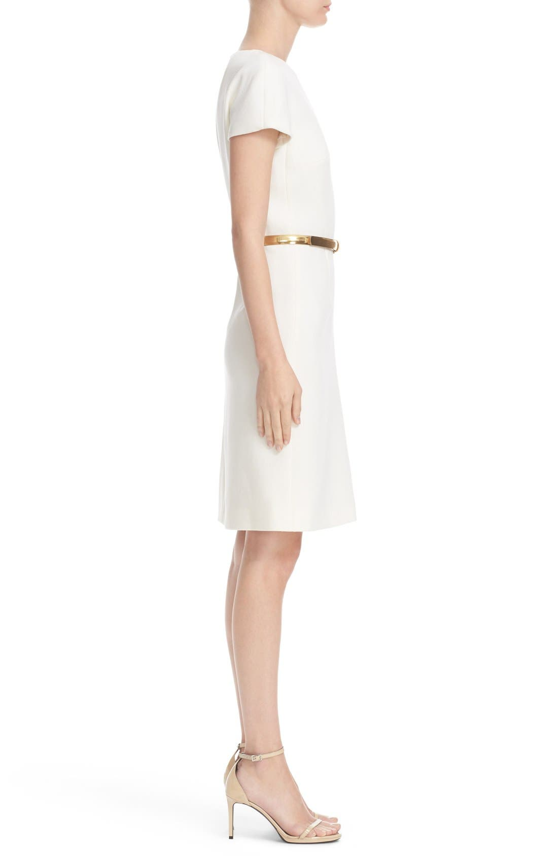 Alternate Image 5  - Michael Kors Stretch Wool Crepe Dress