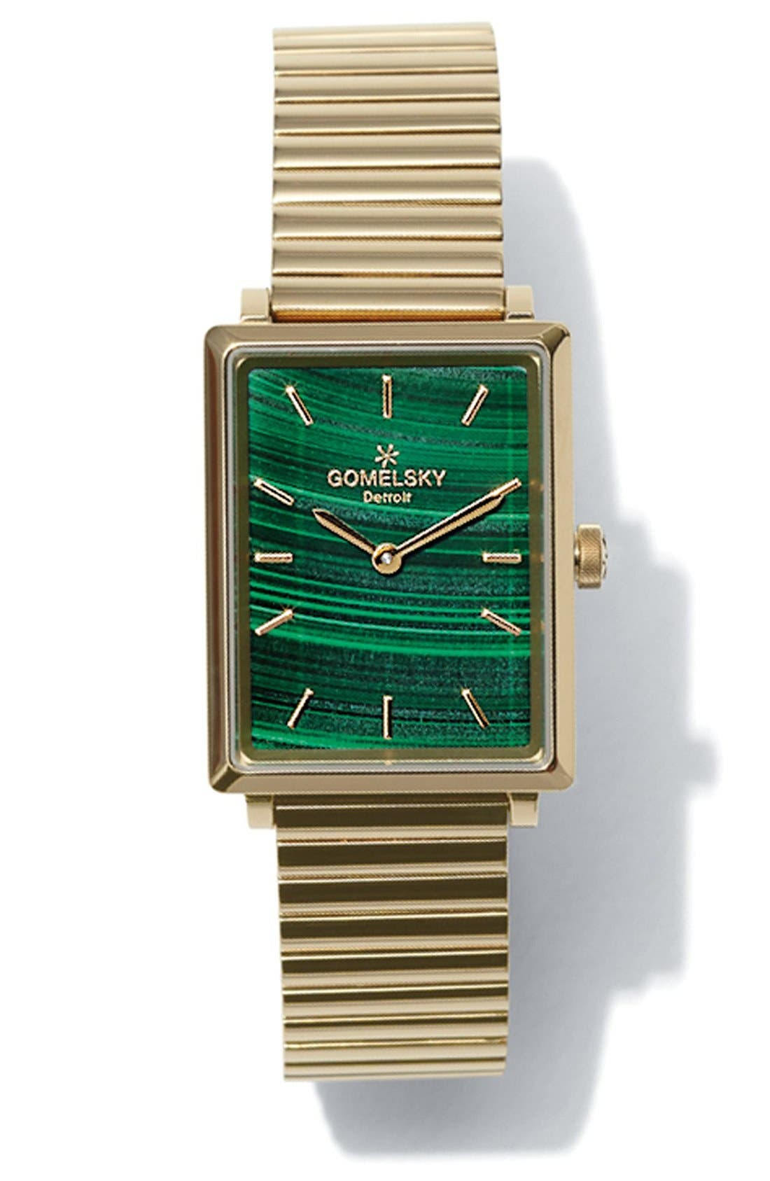 Alternate Image 3  - Gomelsky The Shirley Fromer Bracelet Watch, 25mm x 35mm