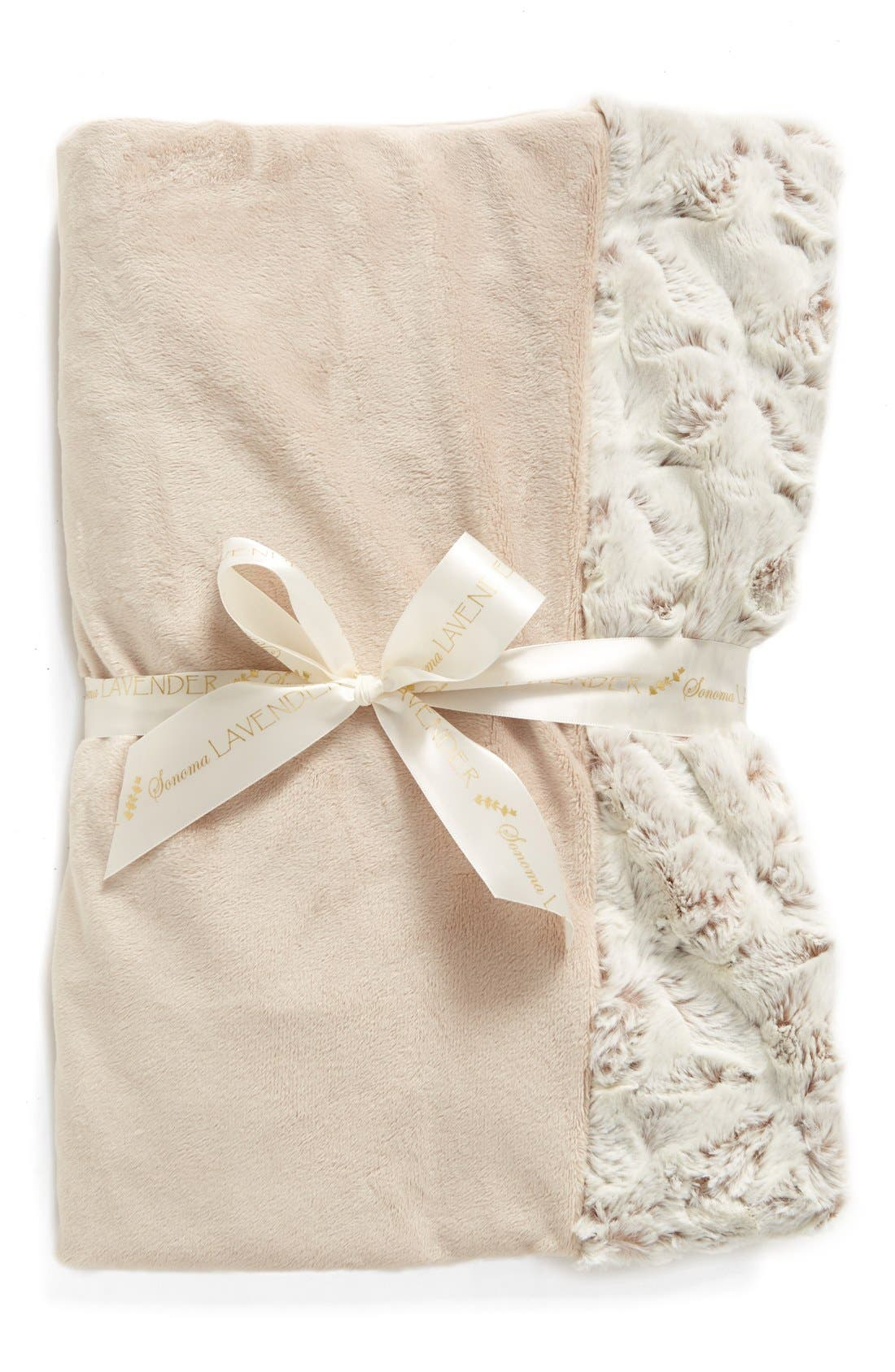 Alternate Image 1 Selected - Sonoma Lavender Taupe Luxe Blankie (Limited Edition) (Nordstrom Exclusive)