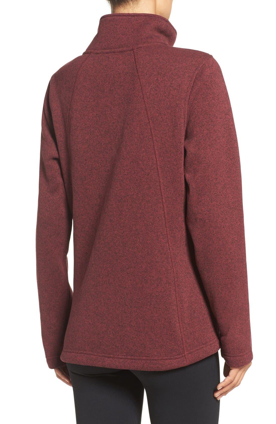 Alternate Image 2  - The North Face Crescent Fleece Jacket
