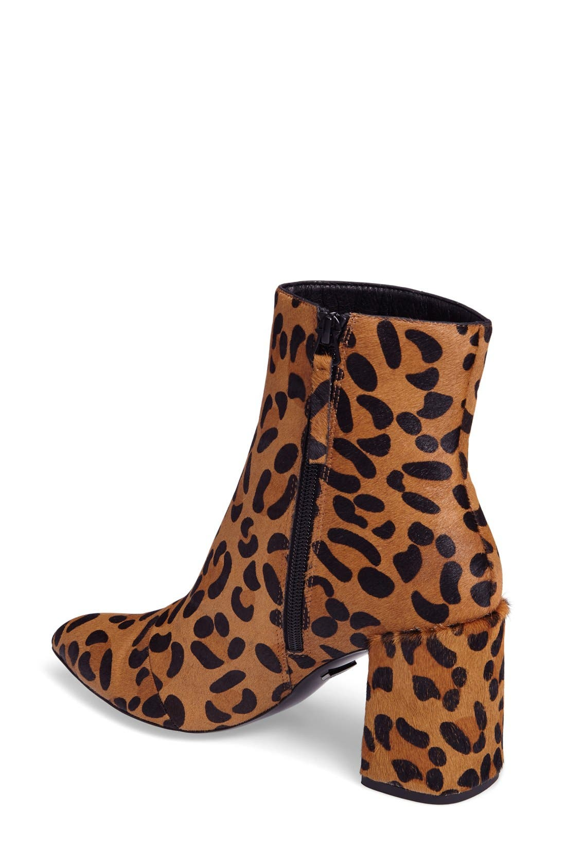 Alternate Image 2  - Topshop Heart Genuine Calf Hair Boot (Women)