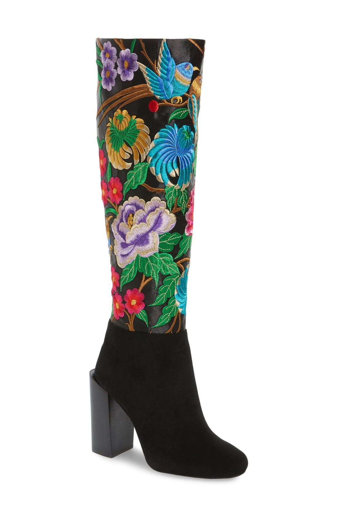 Alternate Image 1 Selected - Jeffrey Campbell Fiori Knee High Boot (Women)