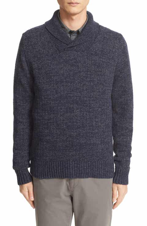 Todd Snyder Shawl Neck Pullover