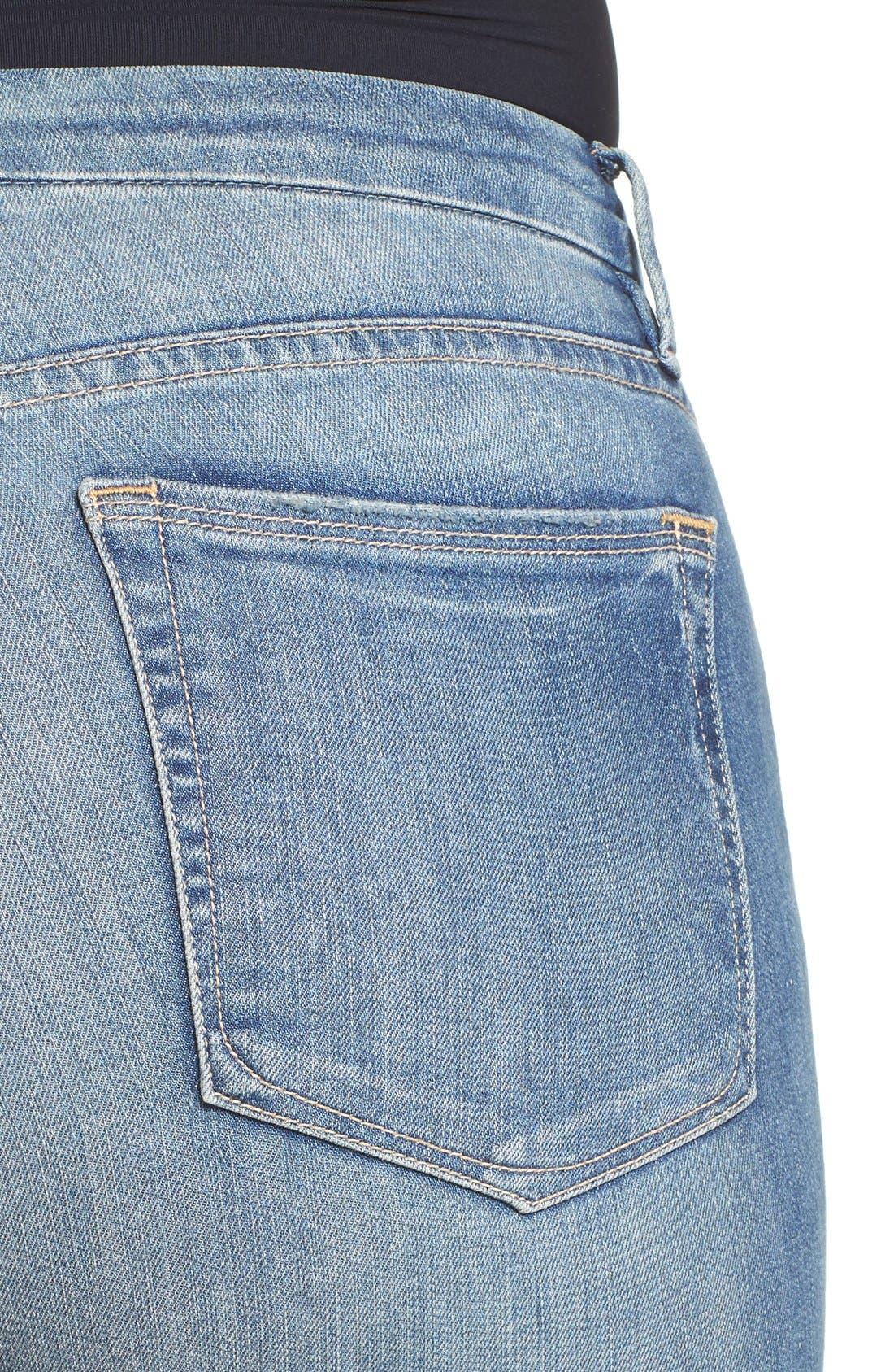 Alternate Image 6  - Good American Good Legs High Rise Crop Skinny Jeans