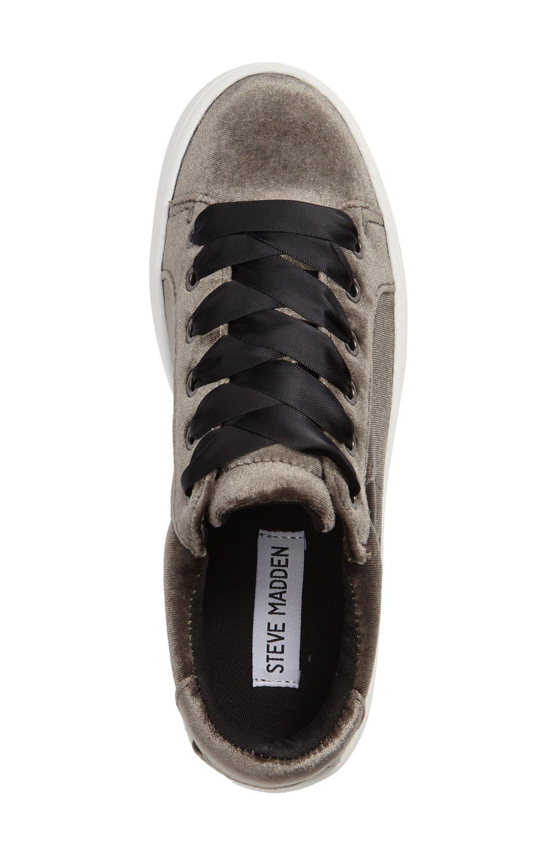 Alternate Image 3  - Steve Madden Bertie-V Platform Sneaker (Women)