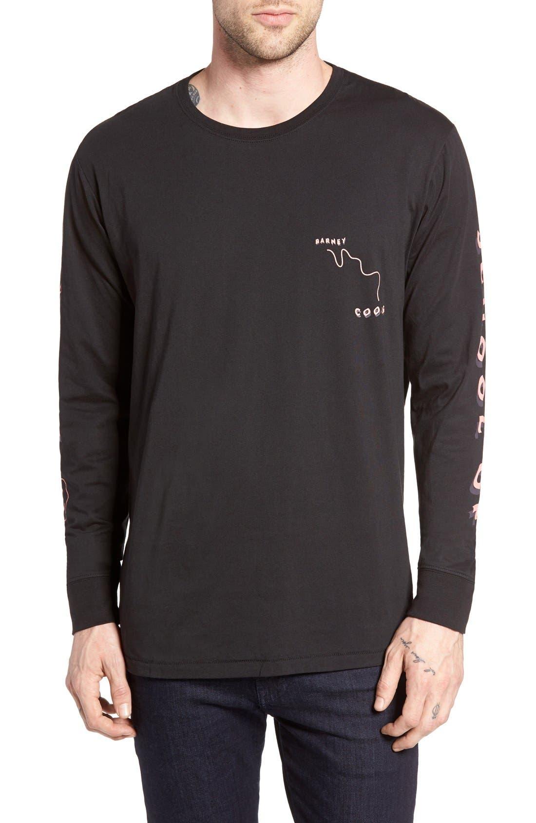 Barney Cools Detention Graphic Crewneck T-Shirt