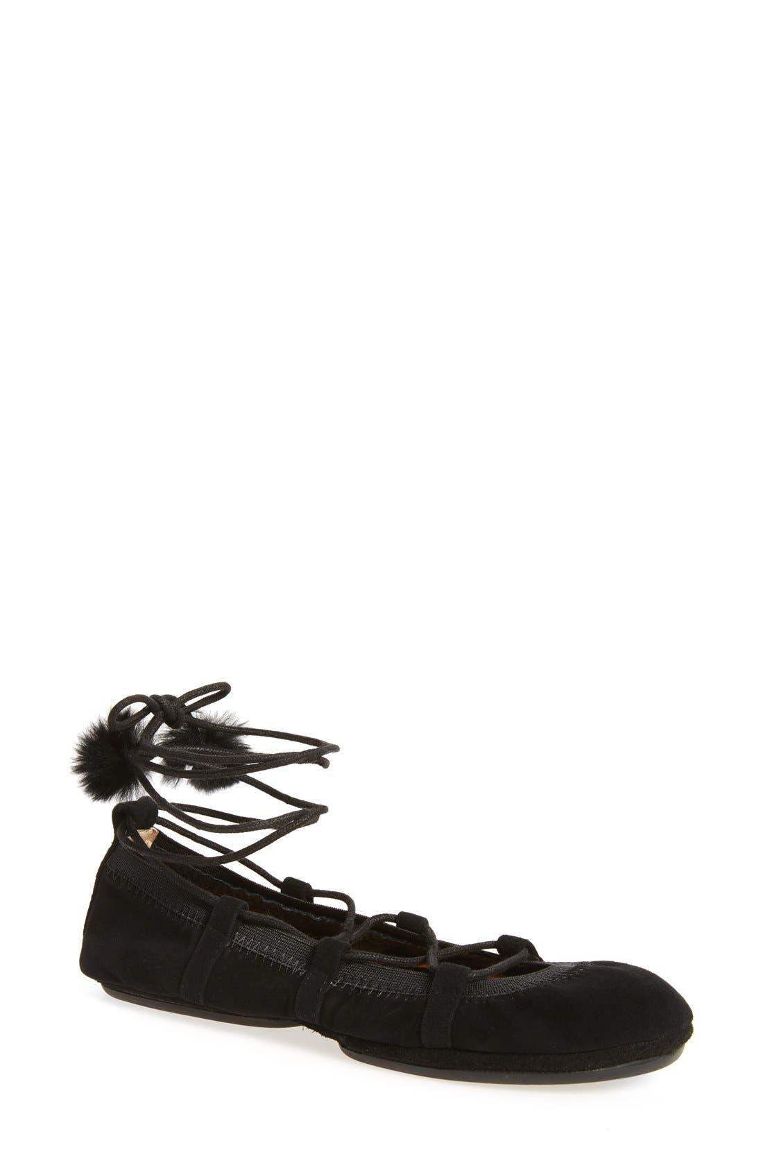 Alternate Image 1 Selected - Yosi Samra Seleste Foldable Ballet Flat (Women)
