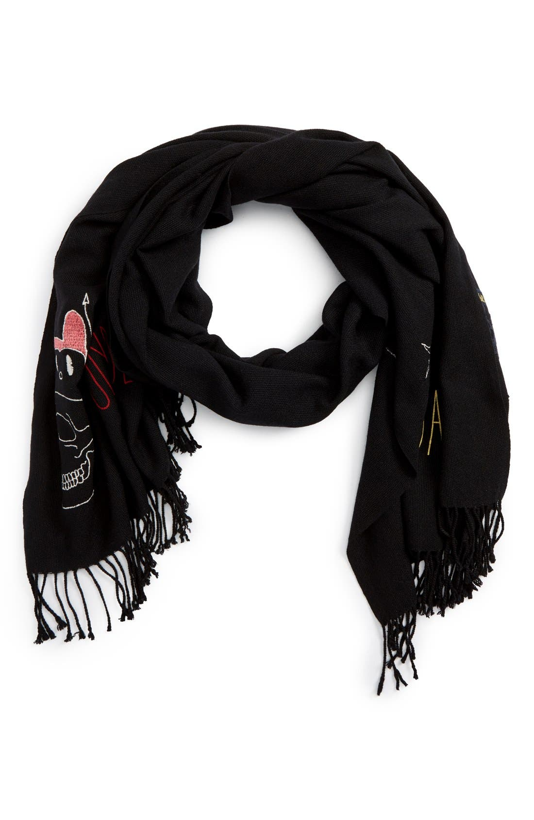 Alternate Image 1 Selected - Undercover Perfect Day Wool & Cashmere Scarf