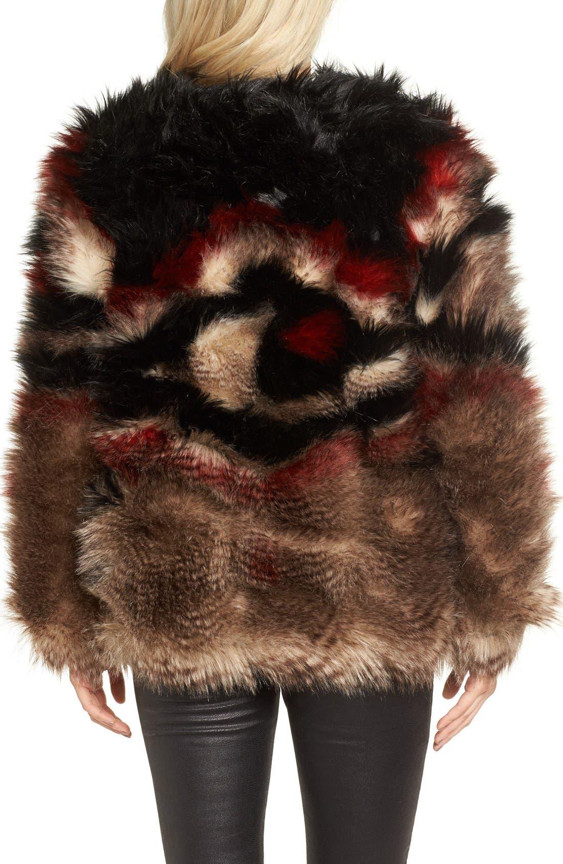 Alternate Image 2  - Free People Scarlet Faux Fur Jacket