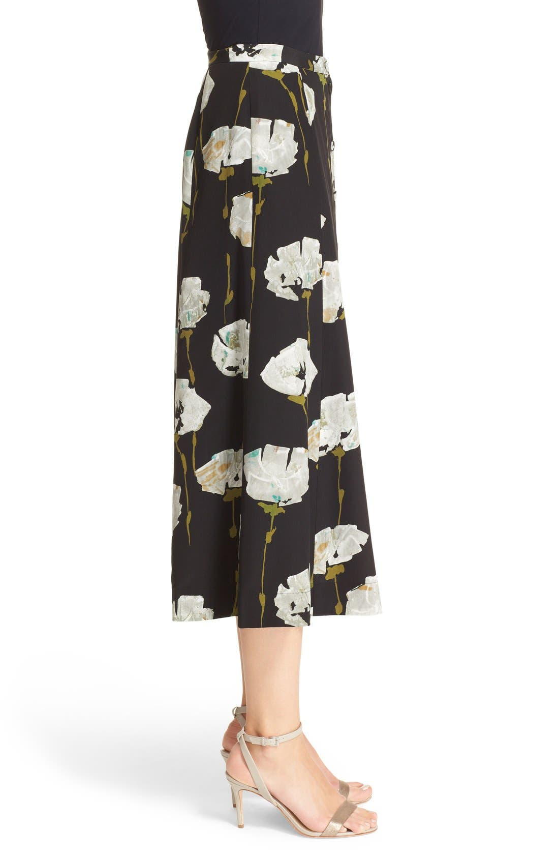 Alternate Image 5  - Lafayette 148 New York Carissa Floral Print Skirt