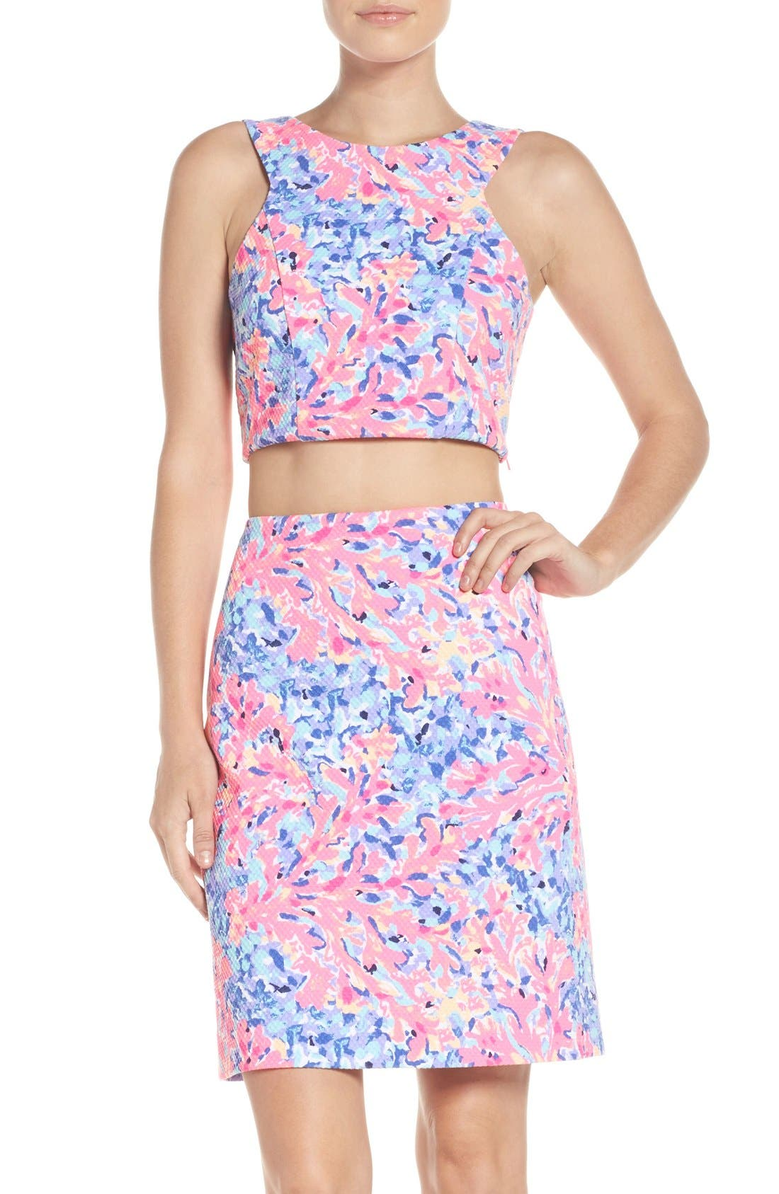 Alternate Image 1 Selected - Lilly Pulitzer® Mallika Two-Piece Dress