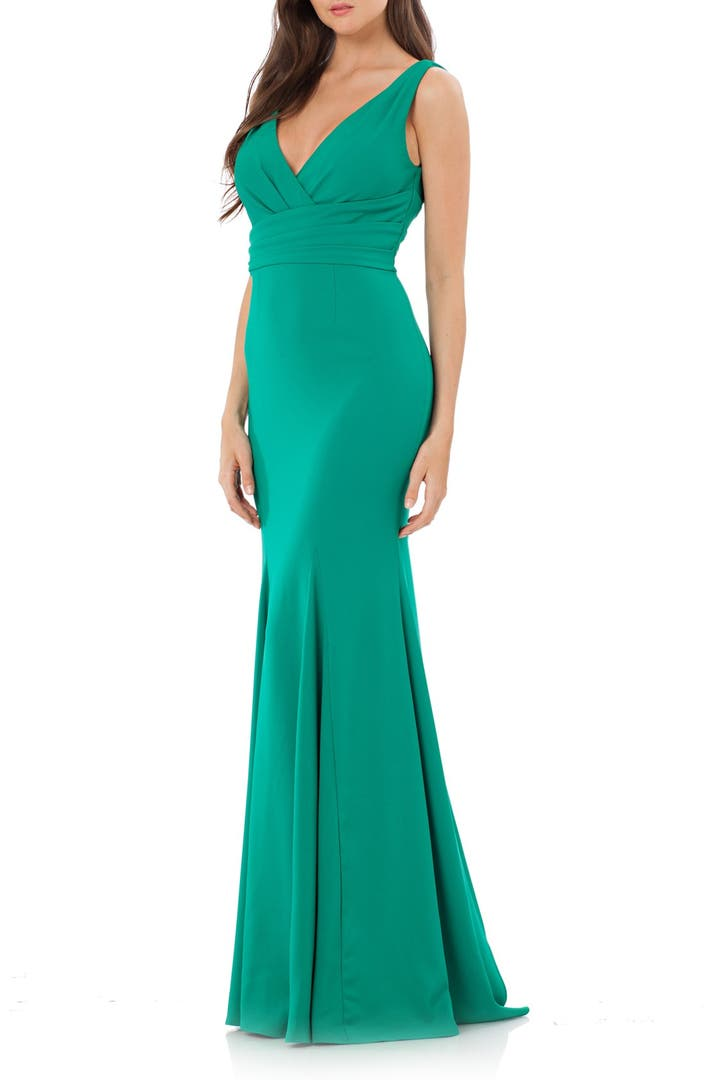 Carmen Marc Valvo Infusion Mermaid Gown | Nordstrom