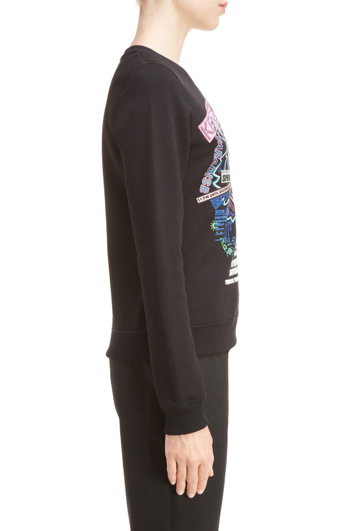 Alternate Image 3  - KENZO Embroidered Tiger Flyer Cotton Sweatshirt