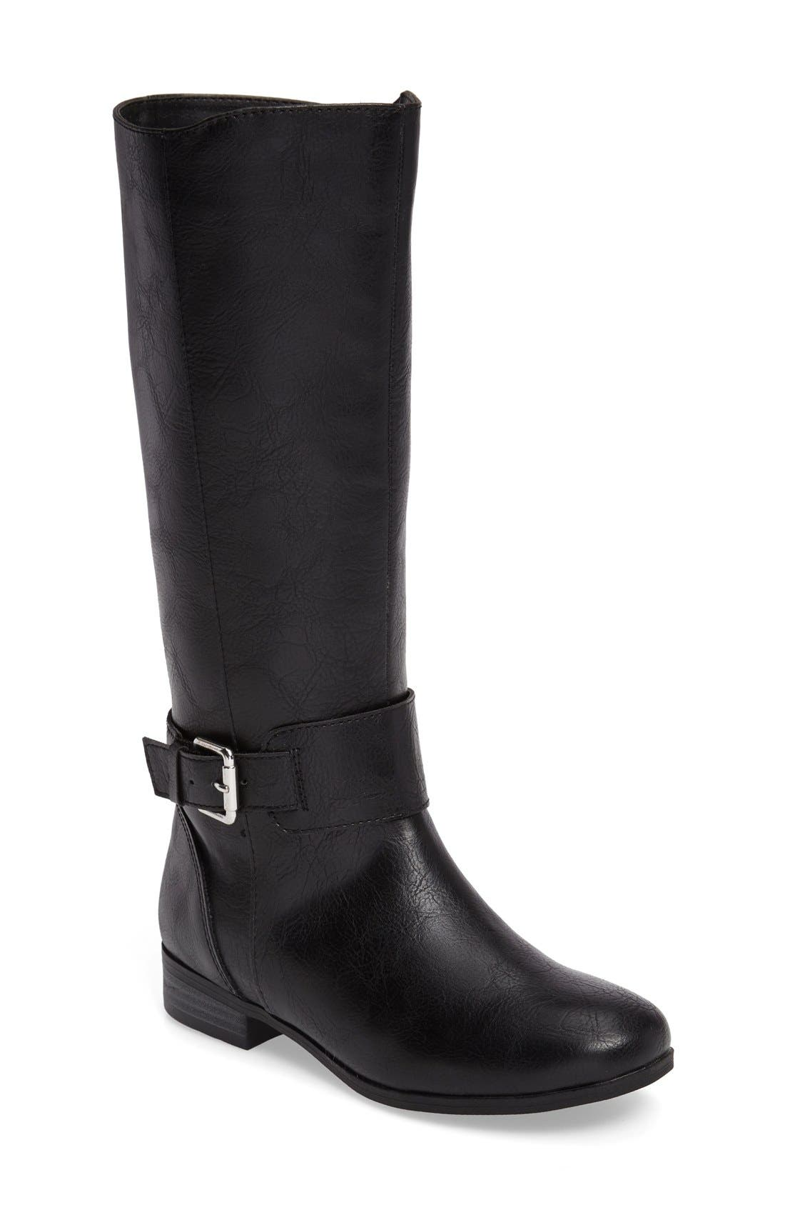 Main Image - Tucker + Tate Marina Buckle Strap Boot (Toddler, Little Kid & Big Kid)