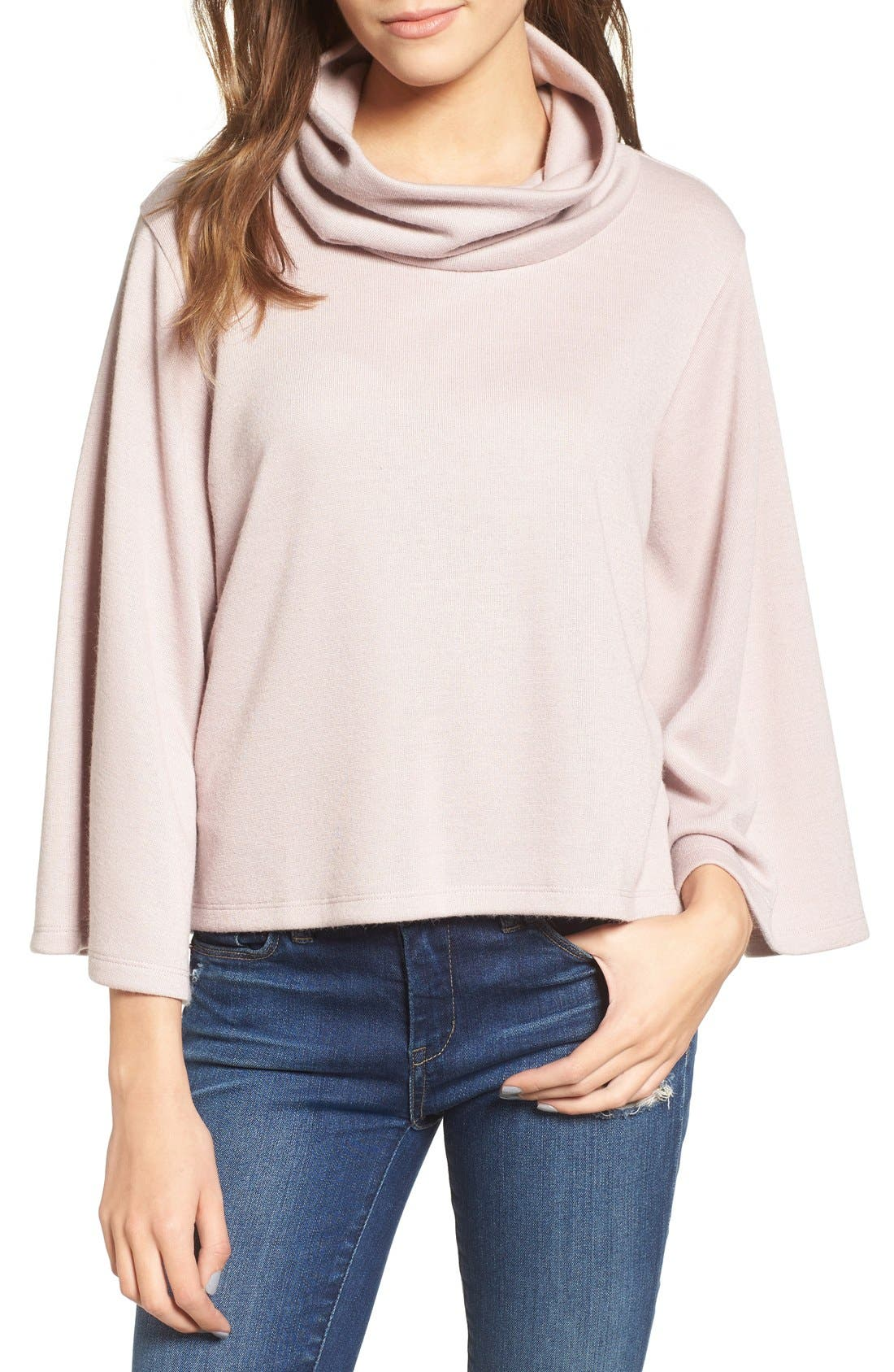 Alternate Image 1 Selected - Leith Cowl Neck Top