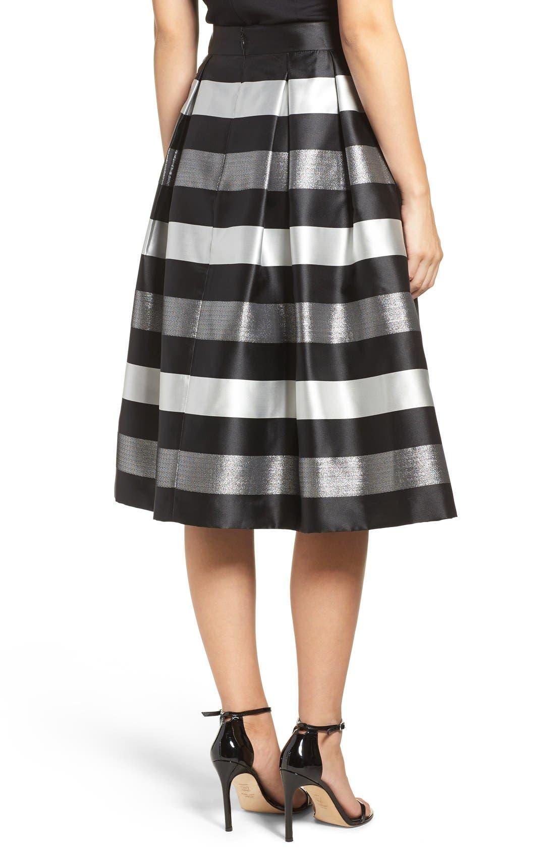 Alternate Image 2  - Eliza J Jacquard Midi Skirt